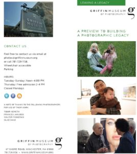 Griffin Museum Leave A Legacy Brochure