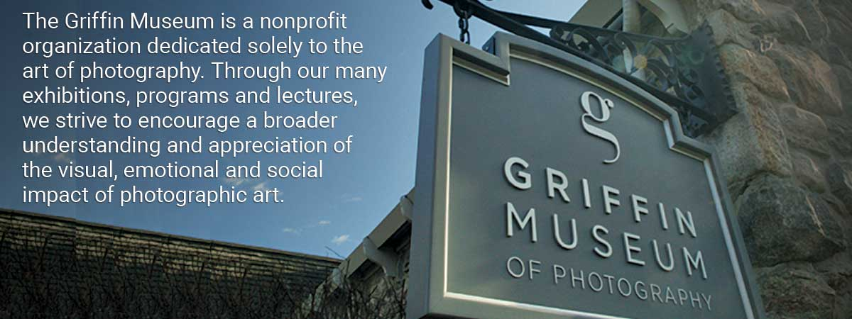 Griffin Museum Welcome Banner  and  Mission Statement