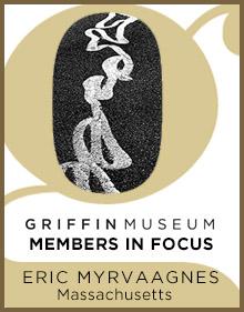 a logo for Member in Focus Eric Myrvaagnes