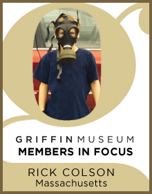 a logo for Member in Focus Rick Colson