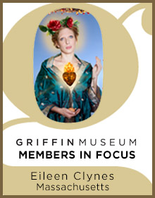 a logo for Member in Focus Eileen Clynes