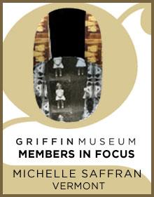 a logo for Member in Focus Michelle Saffran