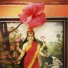 Flower on Indian god image