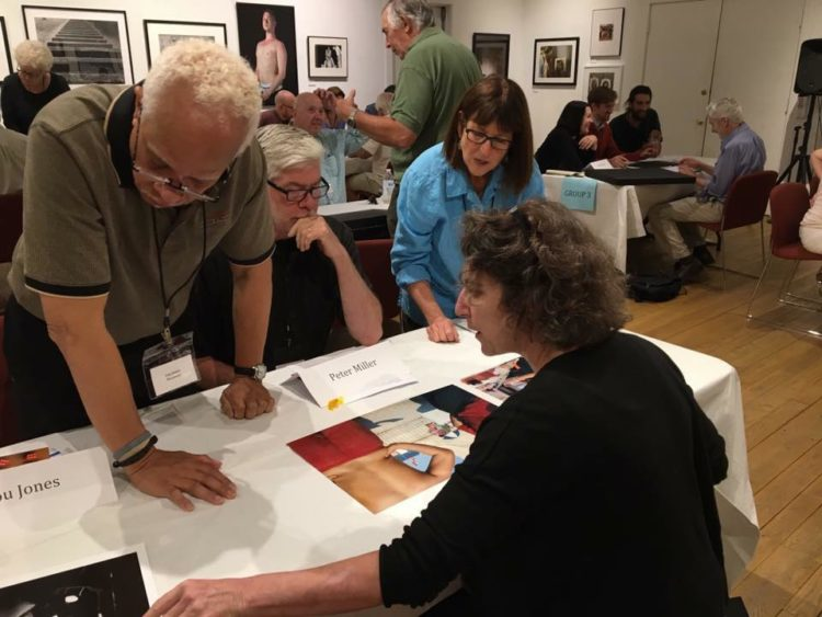Photographers and Portfolio Reviewers in dialogue