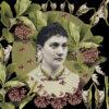 Woman with milkweed