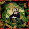 Woman with Rosary pea