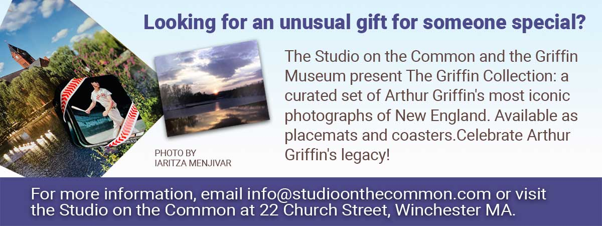 Arthur Griffin Gifts Available through the  Studio on the  Common Web Site Banner