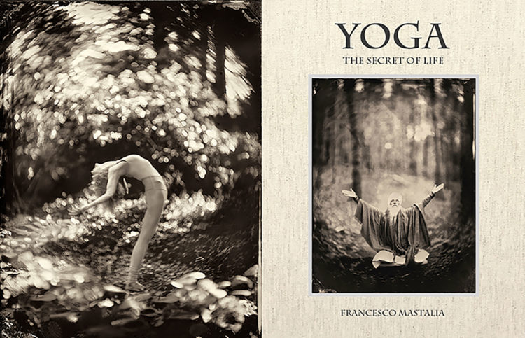 The cover of a book about Yoga.