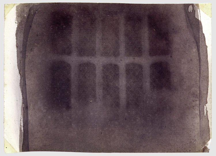 Oriel Window by William Henry Fox Talbot