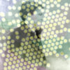 Person with background of dots