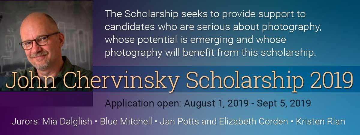 John Chervinsky Scholarship Web-Banner-2019