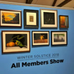 This image is of last year's main wall in the Winter Solstice Show.