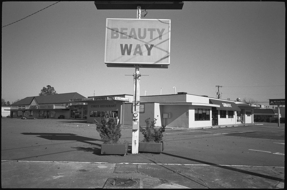 Sign saying Beauty Way