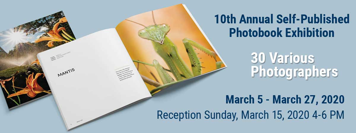 10th Annual Self-Published Photobook Exhibition Banner