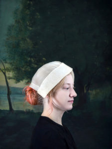woman in nursing cap