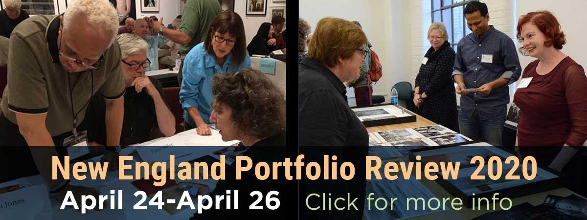 New England Portfolio review Banner