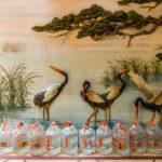 wall decoration of 3 cranes