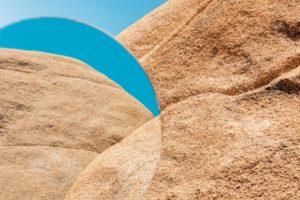 rocks with orb shape