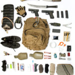 contents of back pack