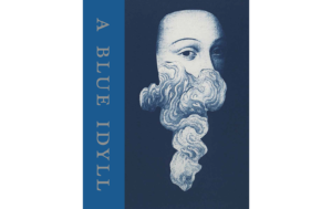Book cover, Blue Idyll