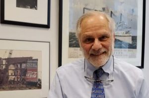 portrait of a man in a tie