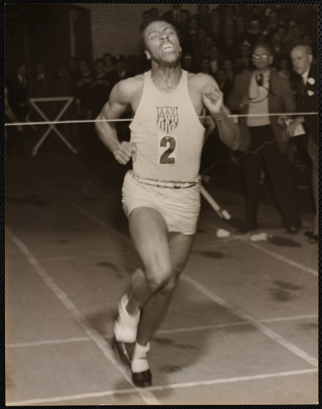 AG Archive- Dartmouth track star
