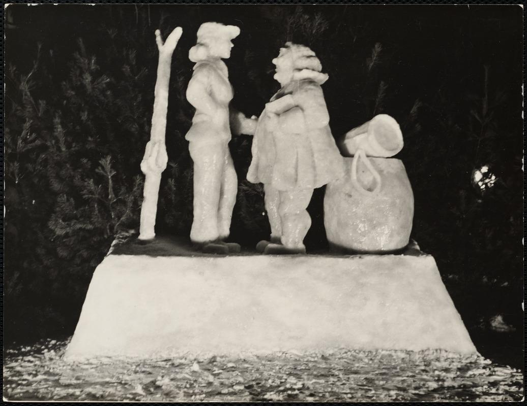 AG Archive - snow sculpture