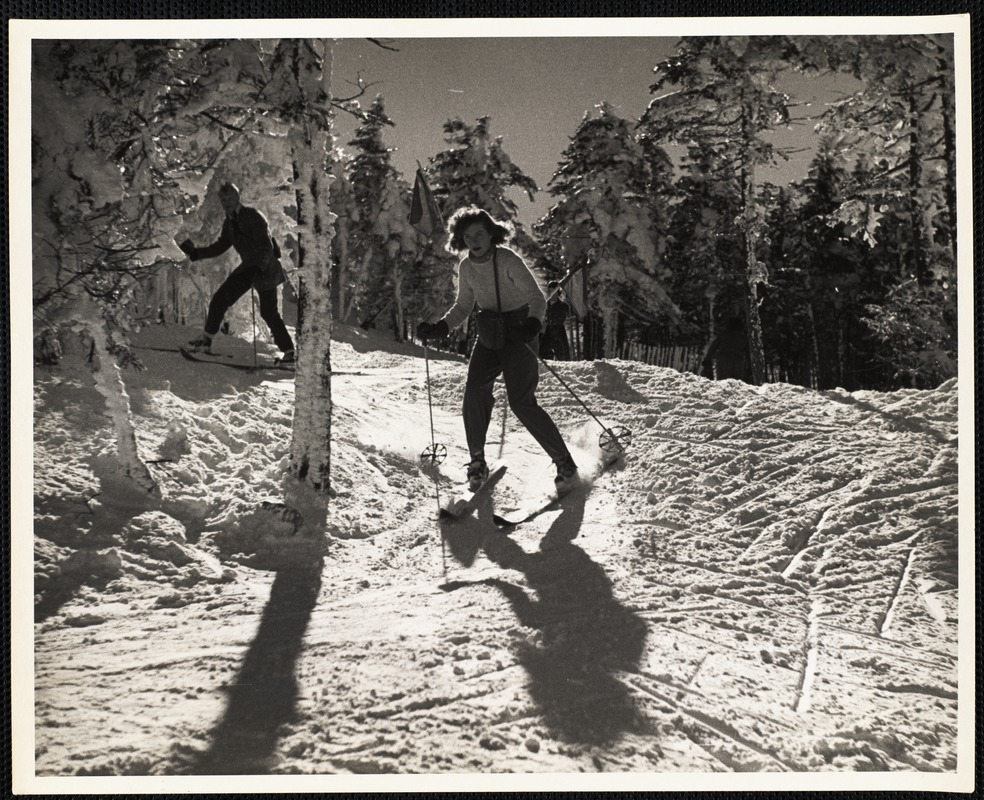 AG Archive- Skiing in New Hampshire