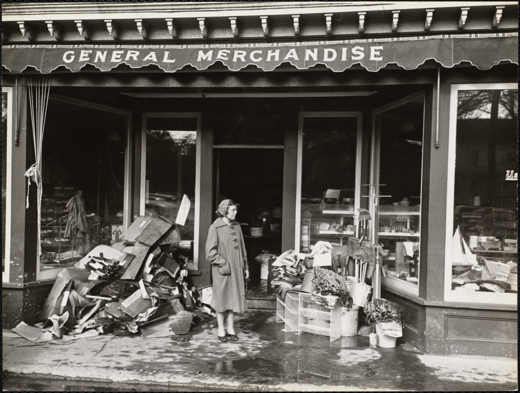 AG Archive- General Store after Hurricane of 1938
