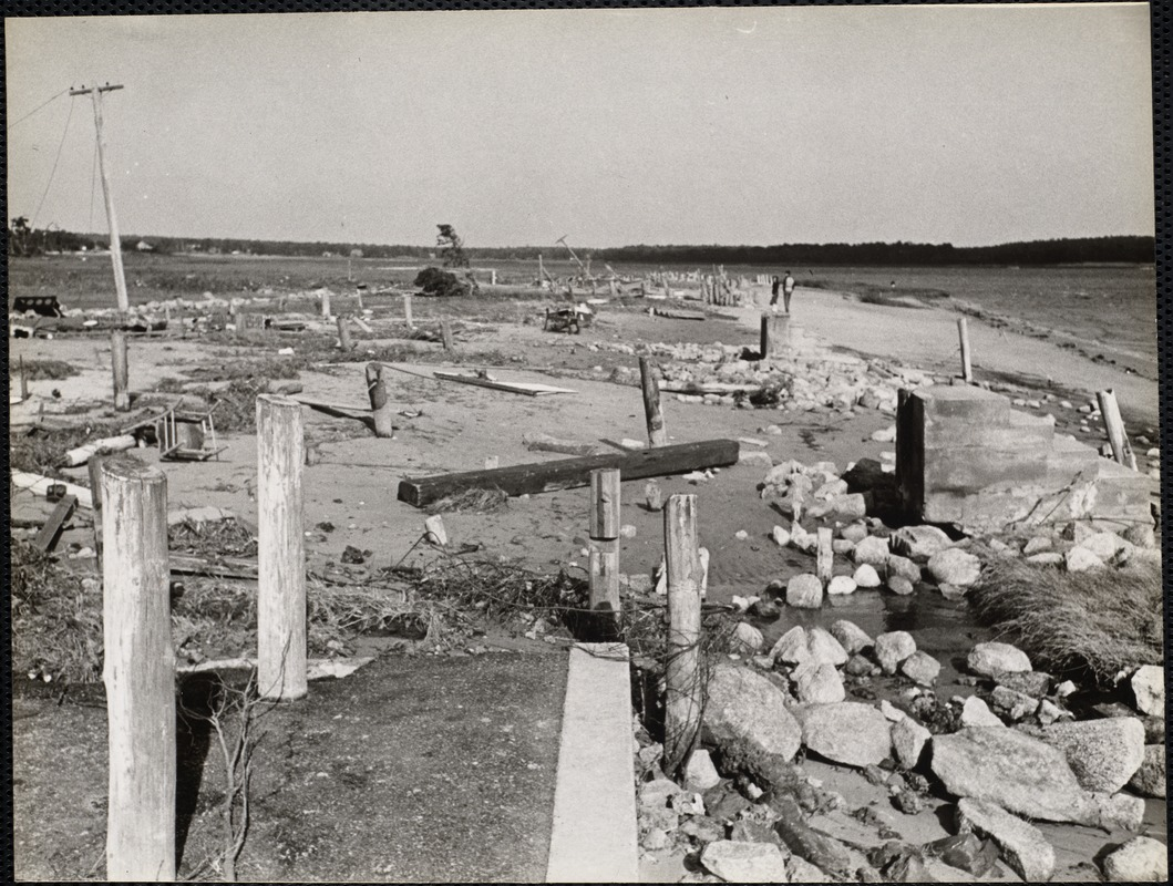 AG Archive- beach after the Hurricane of 1938