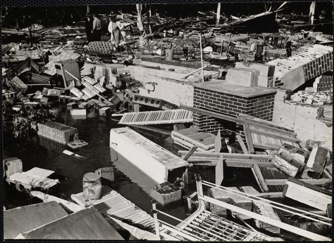 AG Archive- aftermath of the Hurricane of 1938