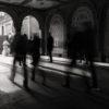 waling in shadow