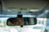 rear view mirror glance