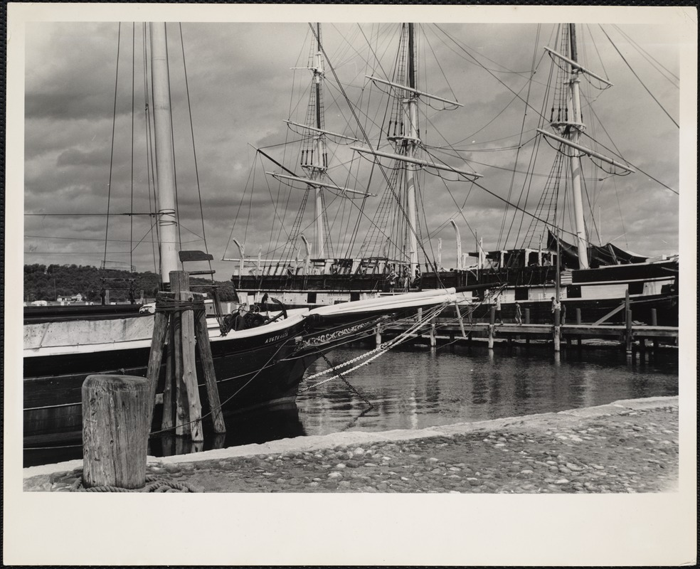 AG Archive- Charles W. Morgan vessel