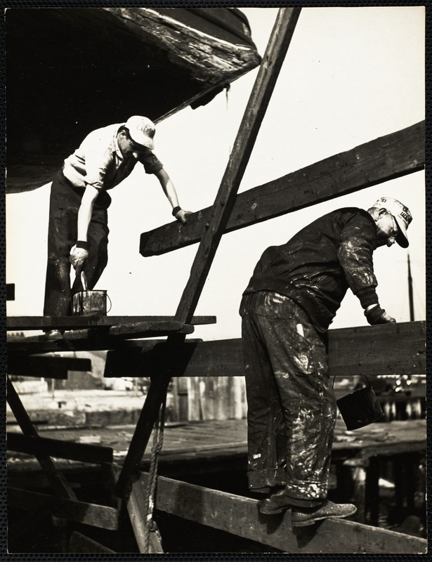AG Archive- painting in the shipyard