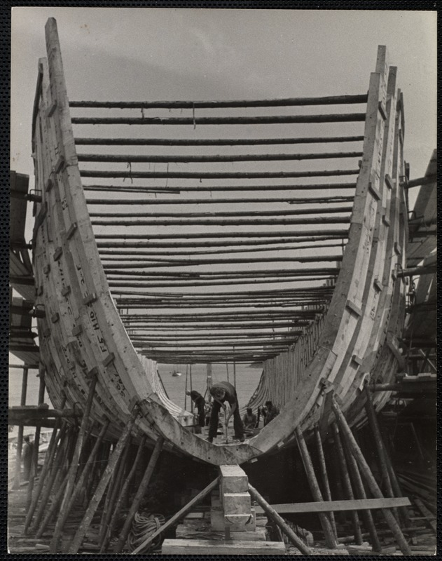 AG Archive- building a coal barge