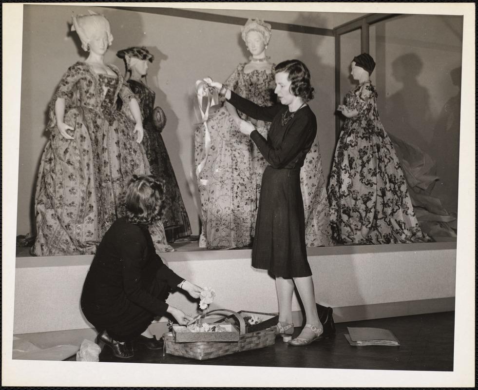 AG Archive- fashion exhibit at MFA