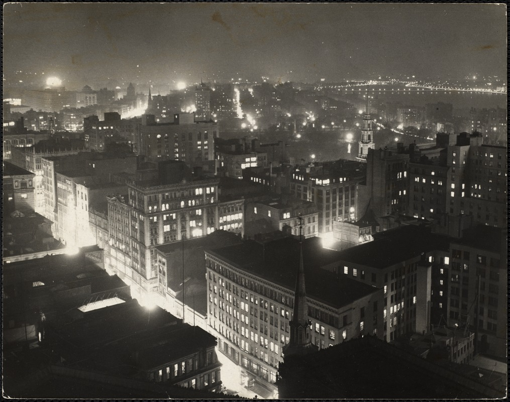 AG Archive- Boston at night