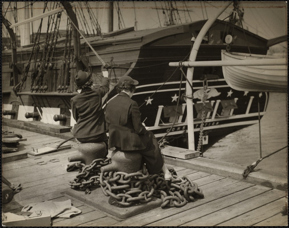 AG Archive- the USS Constitution