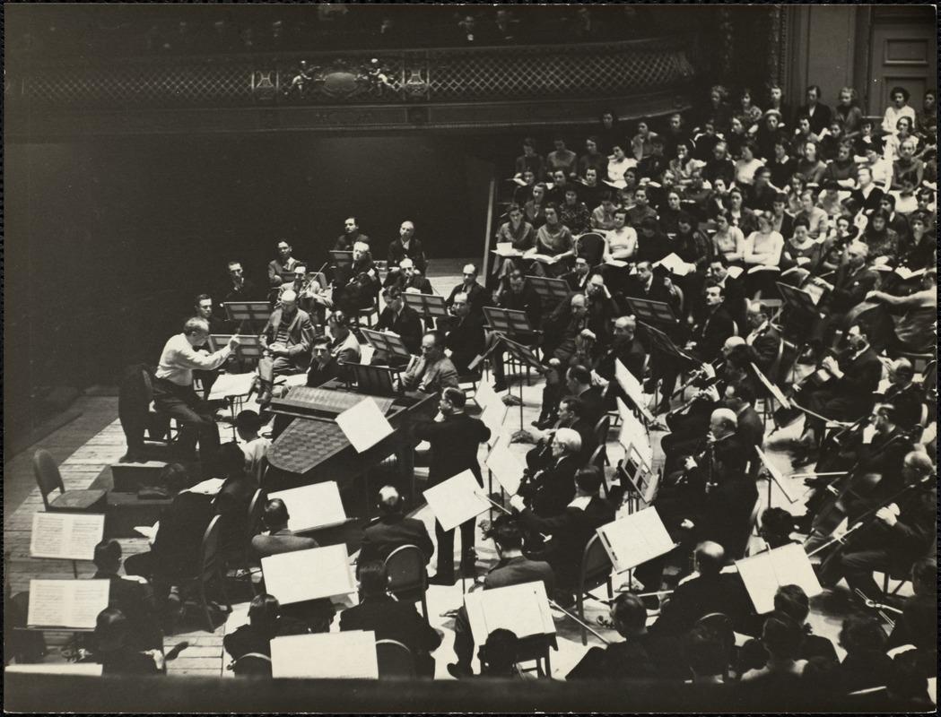 AG Archive- Boston Symphony Orchestra