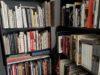 the corner bookshelves