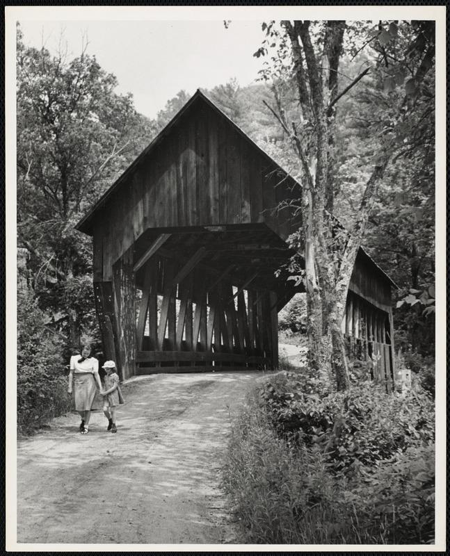 AG Archive- Vermont bridge walk