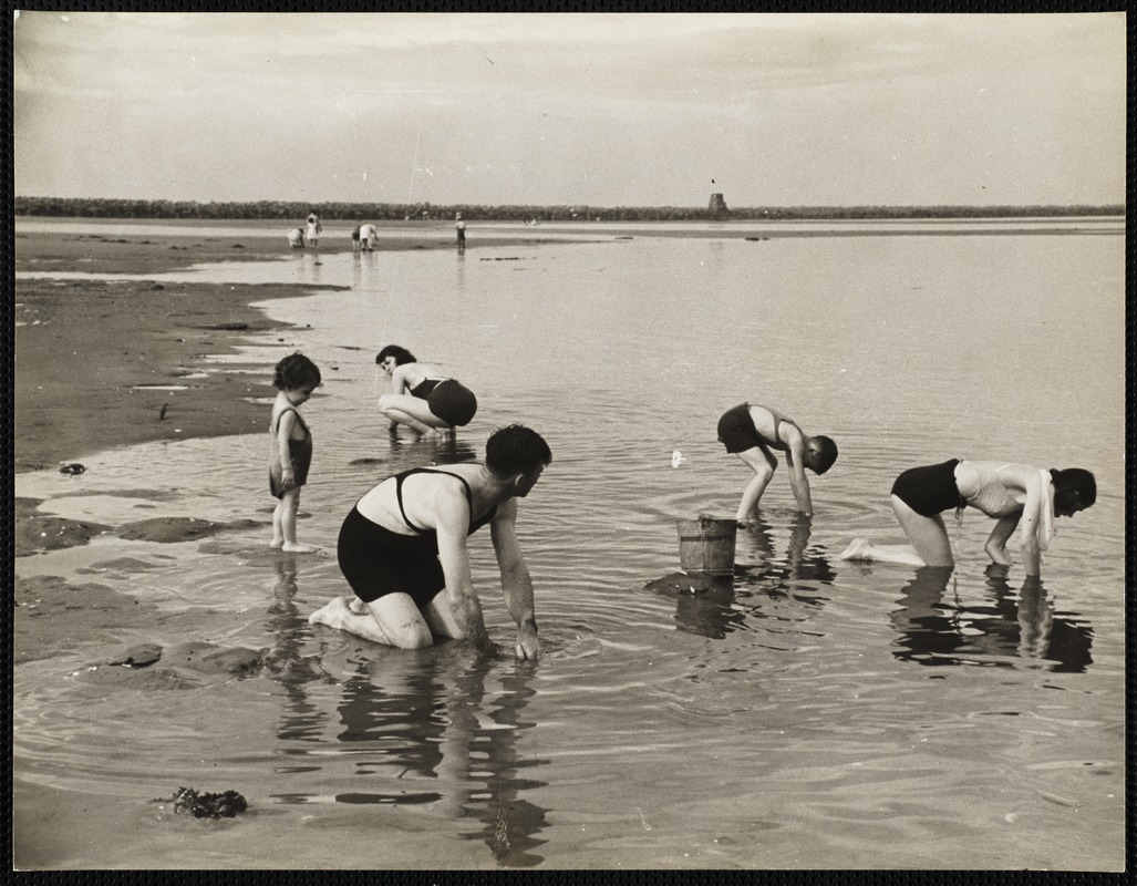 AG Archive- Maine Clamming
