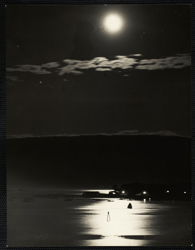 AG Archive- full moon over the water