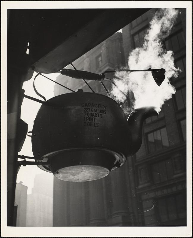 AG Archive- Golden Teapot