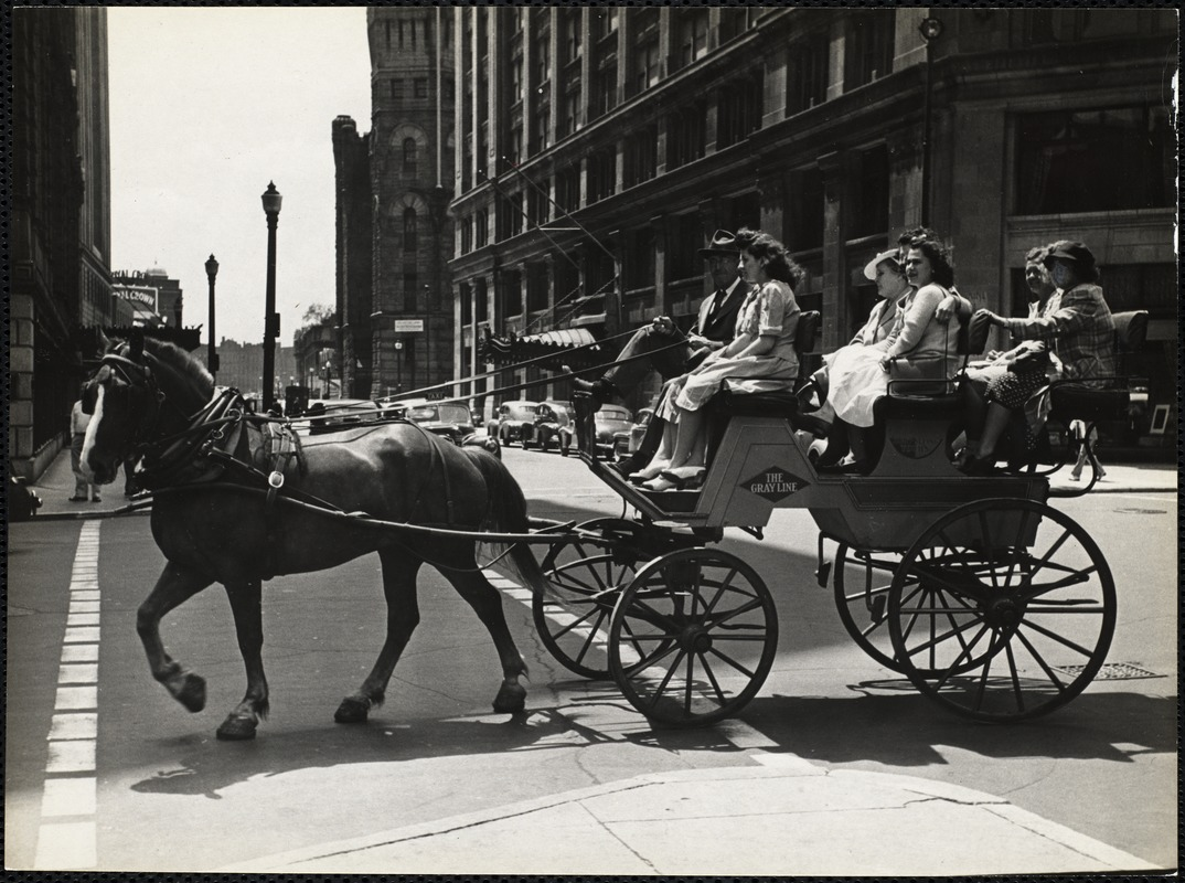 AG Archive- horse and carriage ride through Boston