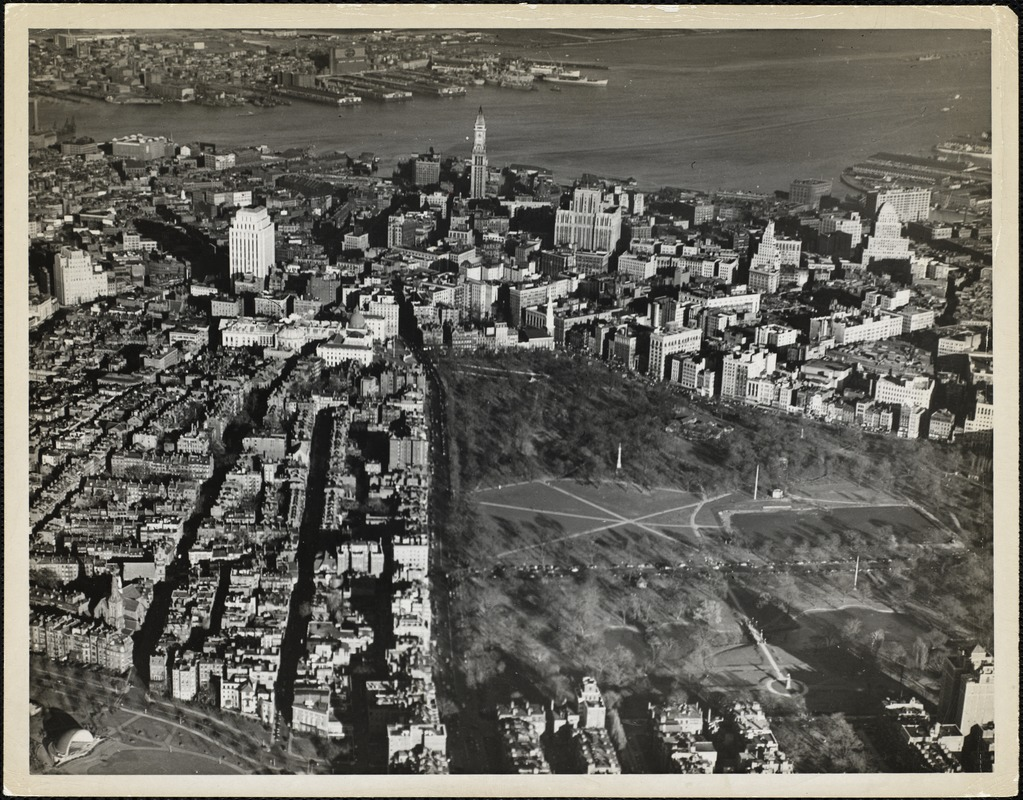 AG Archive- aerial view of Boston