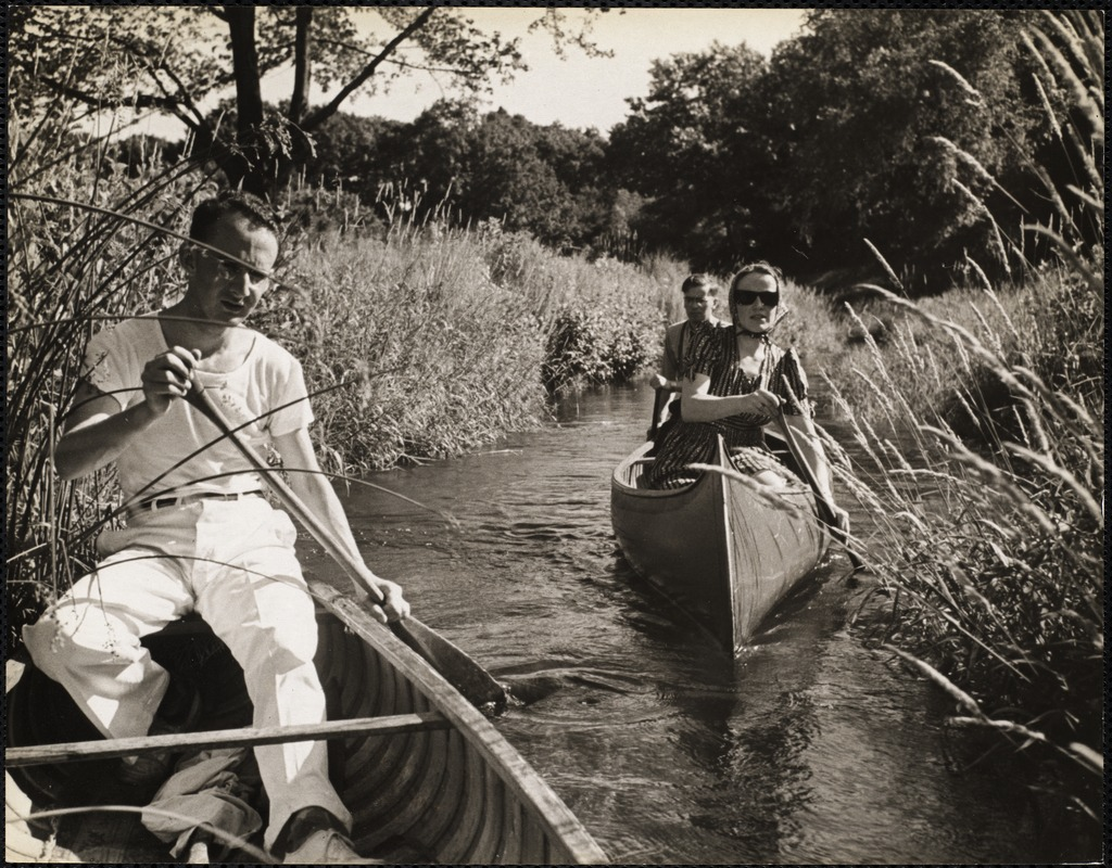 AG Archive- paddling on the Charles River