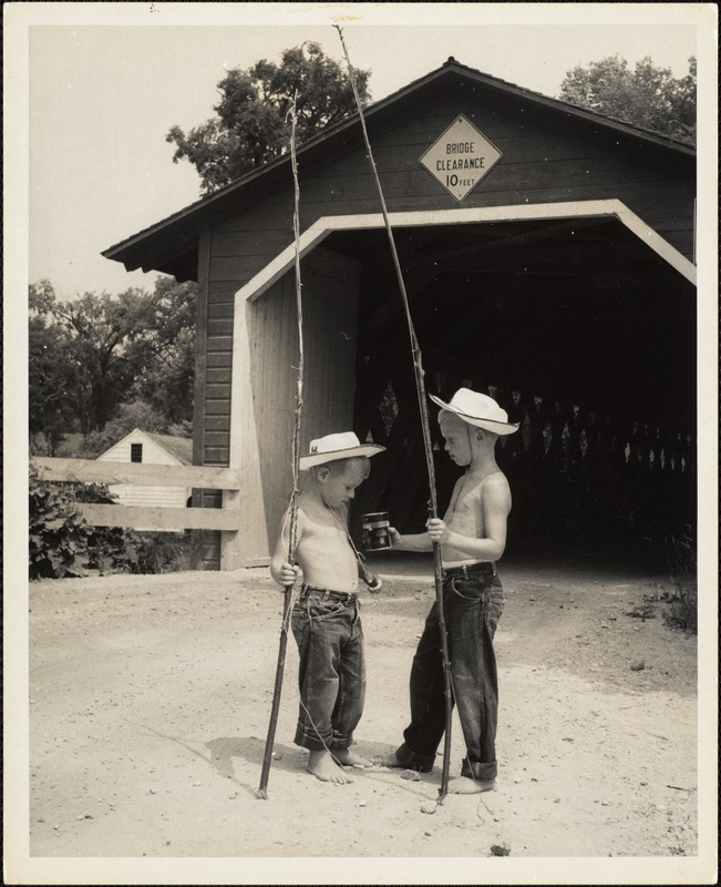 AG Archive- Going fishing