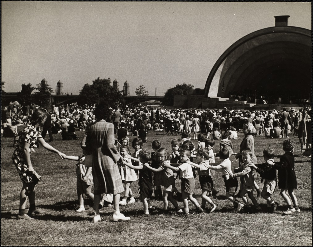 AG Archive- kids at the Hatch Shell concert